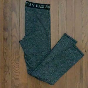 American Eagle fleece lined Leggings